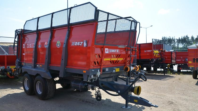 Разбрасыватель удобрений 8 тонн N-267, METAL-FACH